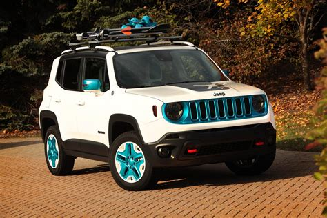 white jeep with teal accents 2014 jeep renegade frostbite news and information