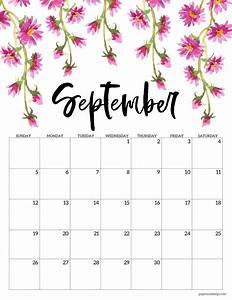 Calendar February 2020 January 2020 Printable Free Printable 2021 Floral Calendar Paper Trail Design