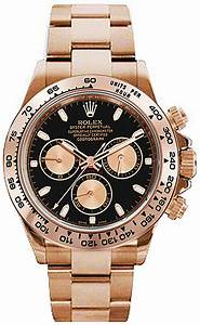 Rolex Serial Numbers 116505 Rolex Cosmograph Daytona 18 Carat Rose Gold Mens Watch