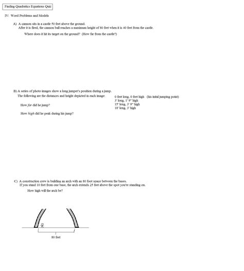 worksheet quadratic equation word problems worksheet