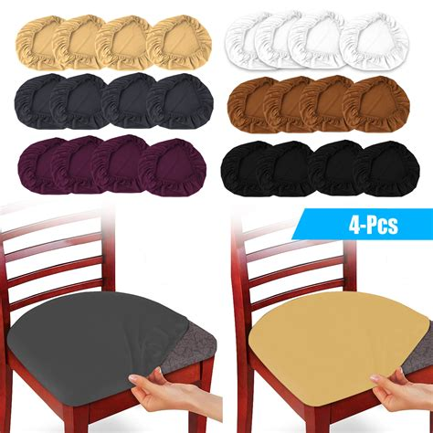 eeekit  pack stretch dining room chair seat covers
