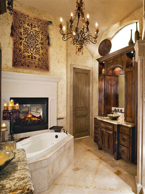 tuscan bathroom ideas pictures remodel  decor