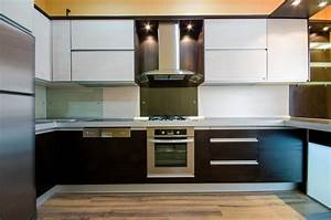 41 luxury u shaped kitchen designs layouts photos With kitchen colors with white cabinets with state of michigan wall art