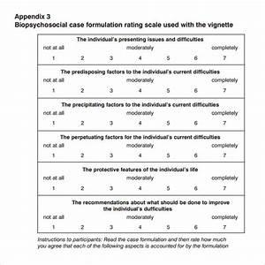 Sample biopsychosocial assessment 8 documents in pdf for Case formulation template