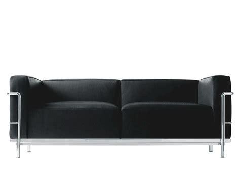 canap le corbusier lc3 cassina lc3 sofa le corbusier jeanneret
