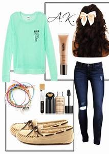 A casual but girly outfit. *Girly* | Fashion | Pinterest | Girly Clothes and Dream closets