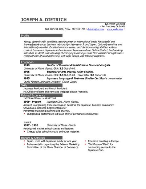 Downloading Resume Templates by 85 Free Resume Templates Free Resume Template Downloads
