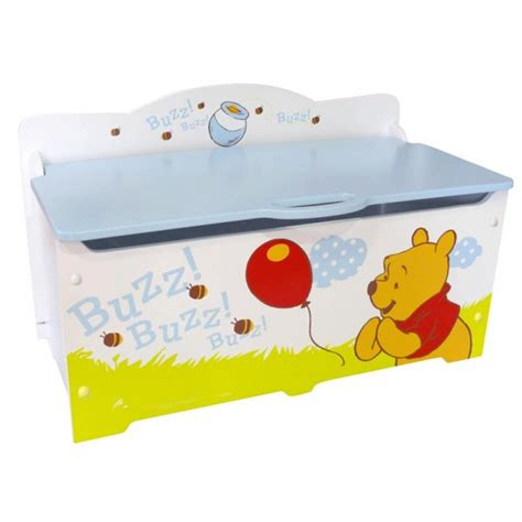 coffre 224 jouets winnie l ourson disney grand mod 232 le collection abeilles j12204 chambre d