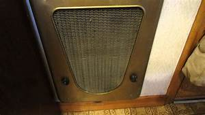 1950s Wall Heater In 1950s House  Working