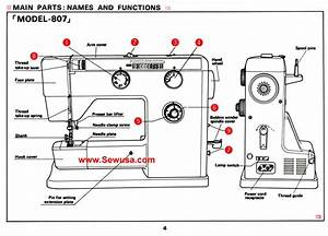 Sewing Machine Parts And Functions Pdf