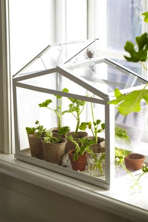 Indoor Windowsill Garden by 15 Ikea Hacks For The Plants In Your Flora Indoor