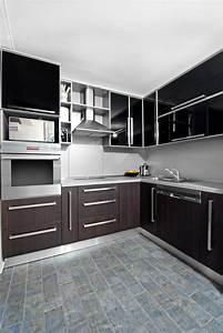 Cocinas, Color, Wengue, Y, Blanco