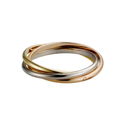 trinity ring 3 gold fine rings for cartier jewelery cartier wedding rings