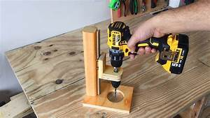 Making A Mobile Drill Press  Drill Guide