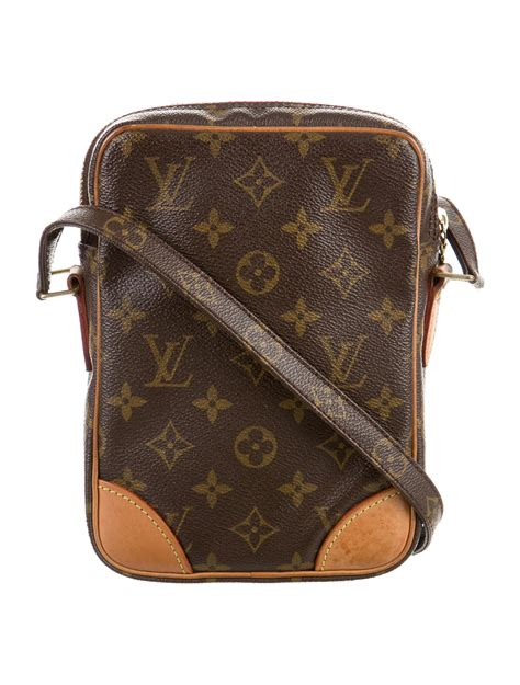 louis vuitton vintage monogram danube crossbody handbags