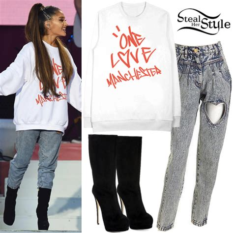Ariana Grandeu0026#39;s Clothes u0026 Outfits | Steal Her Style