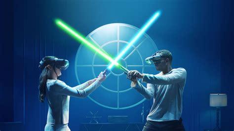 lightsaber battle  friends  lenovo