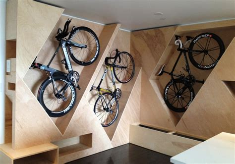 Apartment Garage Storage Ideas by 30 Minimalist Bike Storage Ideas For Tiny Apartments