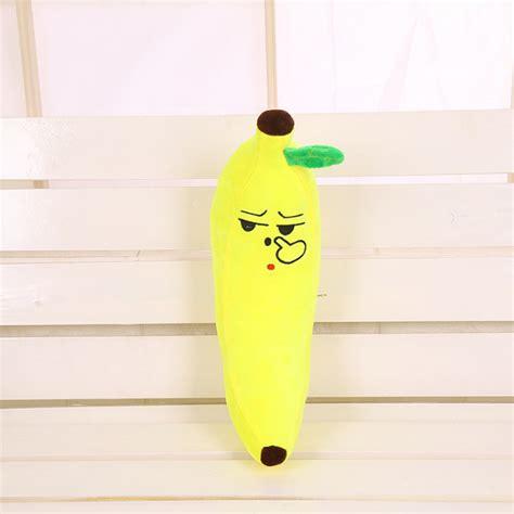 big emoji banana pillow 65cm 2 15ft home import world