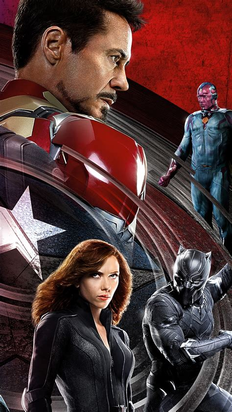 wallpaper captain america  civil war iron man marvel