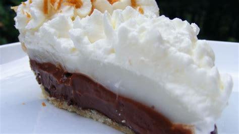 coconut haupia  chocolate pie recipe allrecipescom