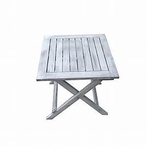 Grande Table Pliante : table d appoint pliable en bois dionysos table basse ~ Teatrodelosmanantiales.com Idées de Décoration