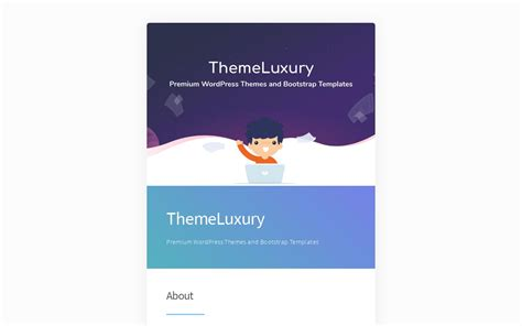 themeluxury premium wordpress themes  bootstrap templates