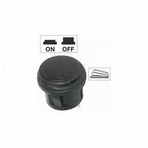 Interrupteur Bouton Poussoir : interrupteur contacteur bouton poussoir noir on off eit ~ Melissatoandfro.com Idées de Décoration