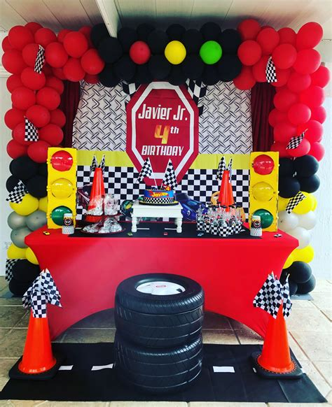 race car theme party decoration party decoration ideas