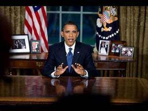 President Obama's Oval Office Address on BP Oil Spill ...