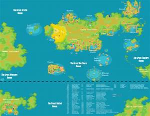 My Pokemon World Map v6 0