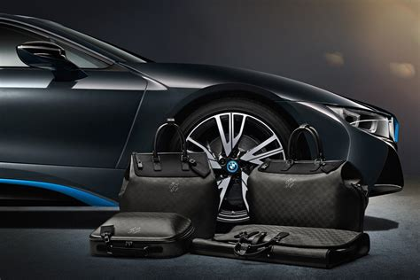 louis vuitton creates exclusive travel bags   stunning bmw  luxurylaunches