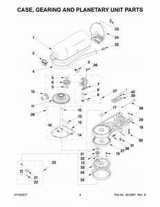 Kitchenaid 5ksm150psagr0 Mixer Speed Control Board