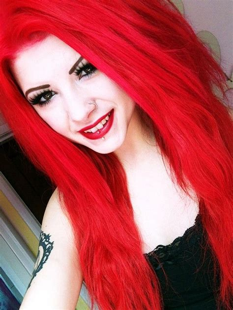Pin By Alanna Calleon On Reds Bright Red Hair Dye