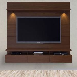Entertainment Center Wall Unit Large Mounted Modern TV ...