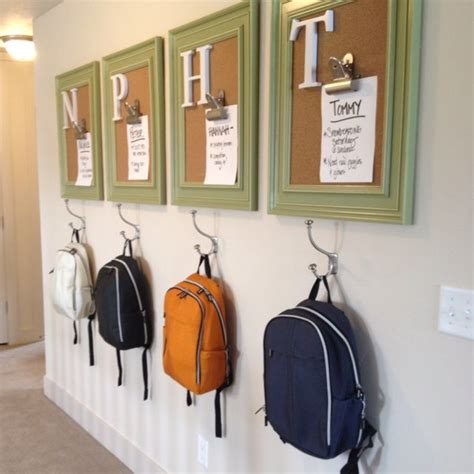 entryway organizer coat rack mail storage coat hooks and key rack wall mounted floating shelf 9 of the neatest room decor ideas for a child home