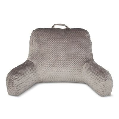 26891 bed rest pillow with arms gray bedrest throw pillow room essentials target