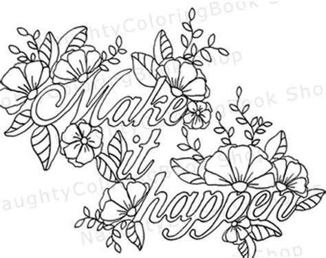 deserve happy printable gift coloring pageadult coloring
