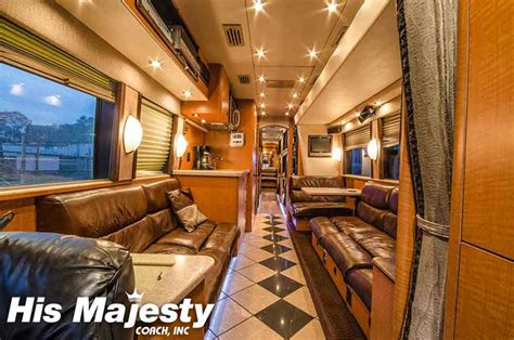 Sleeper Bus Rentals With His Majesty Coach