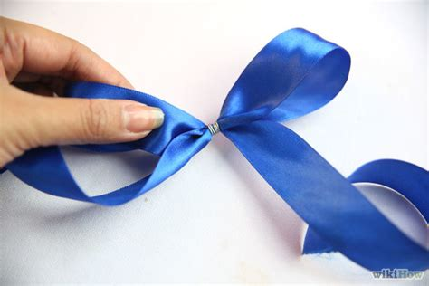 make a bow out of ribbon make a bow out of a ribbon step 24 version 2 jpg