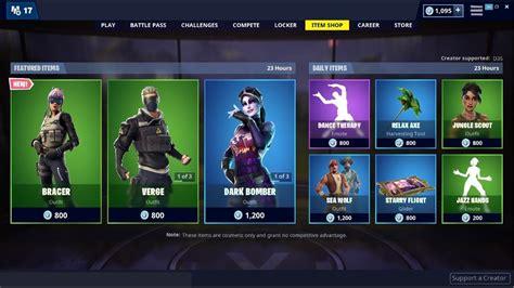 newbracer skin dark bomber  fortnite item shop