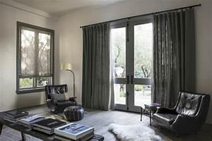 Rideau Salon Gris : rideaux design moderne et contemporain 50 jolis int rieurs ~ Teatrodelosmanantiales.com Idées de Décoration
