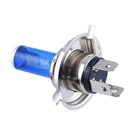 2 x xenon white h7 55w 12v bright headlight bulb