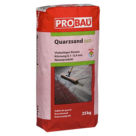 quarzsand 25 kg probau eco quarzsand 25 kg feuergetrocknet bauhaus