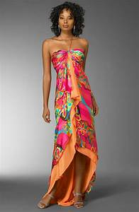 mary l couture tropical gown tropical bridesmaid dresses With tropical wedding dresses