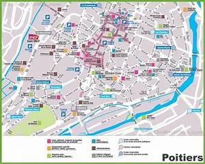 Poitiers Carte De France : poitiers sightseeing map ~ Dailycaller-alerts.com Idées de Décoration
