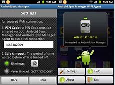 Android Sync Manager WiFi Backup and Sync Data between