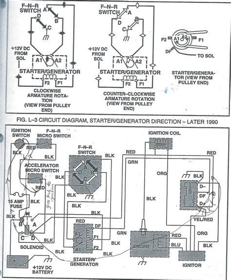 36 Volt Ezgo Wiring Diagram1990 by 91 Ezgo Wiring Diagram Wiring Library