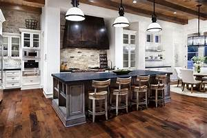 fusion of classical and modern design styles for kitchen With kitchen cabinet trends 2018 combined with metal wall art sale