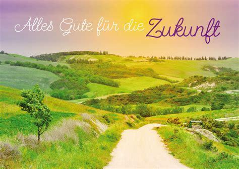 Postkarte Alles Gute Für Die Zukunft